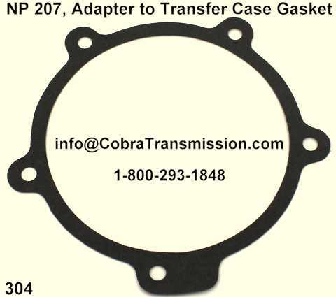 NP226, NP233 Adapter to Transfer Case Gasket